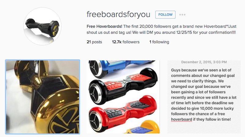 Instagram-HoverBoard-Scam