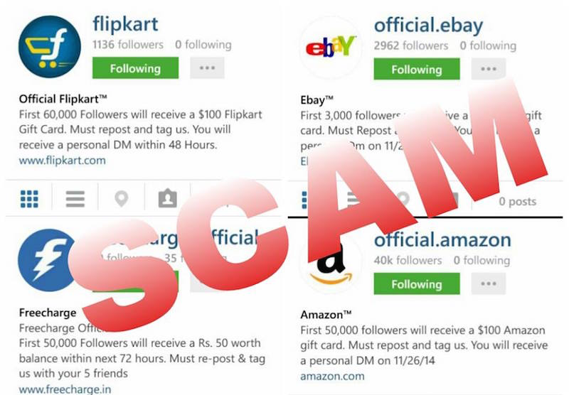 Instagram-Scams