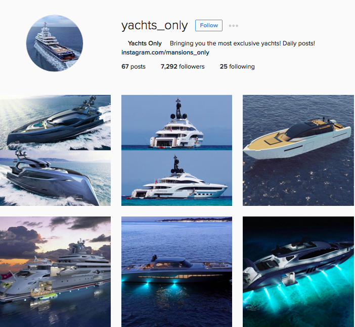 Quick Growth For Luxury Instagram Account