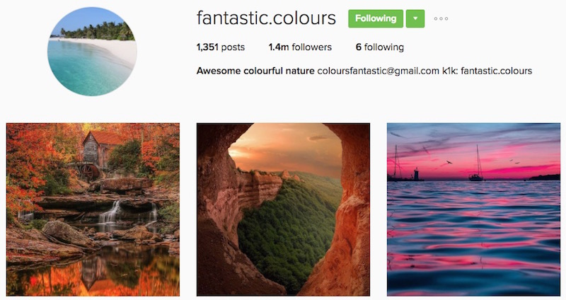 Fantastic Colours InstaWealth Success