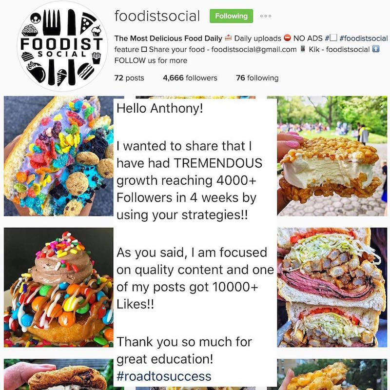How to create a food instagram account wolf millionaire blog how to create a food instagram account forumfinder