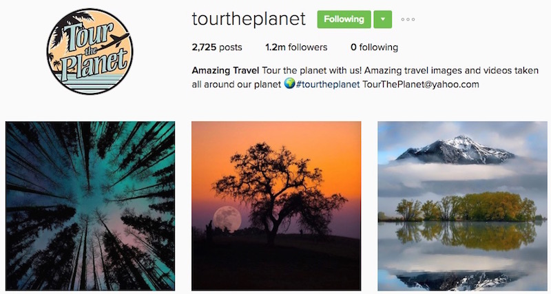 High Quality Instagram Travel Posts
