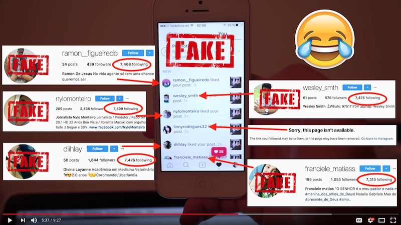 Cheating Instagram Followers Scam Busted - Wolf Millionaire Blog