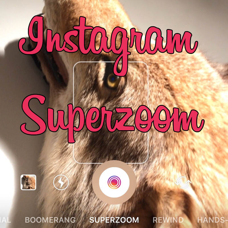 Superzoom Instagram