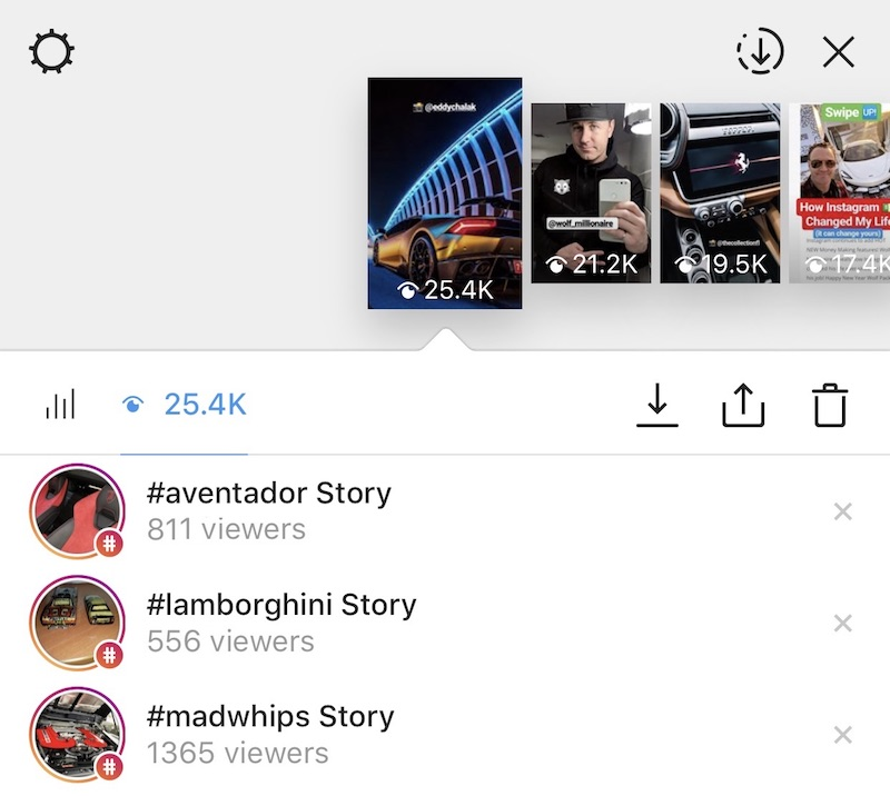 Stories Hashtags Instagram