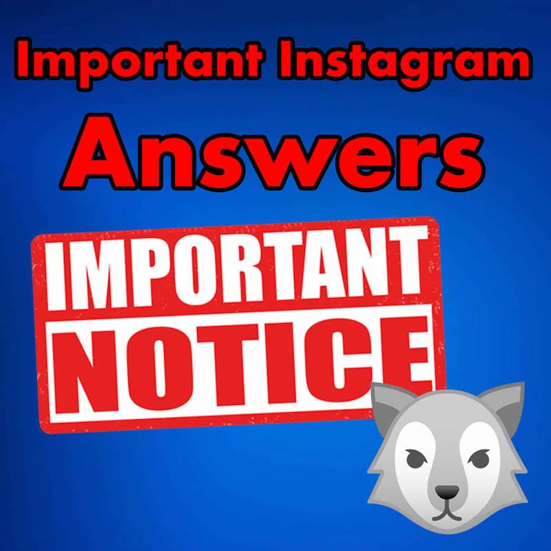 Instagram Questions