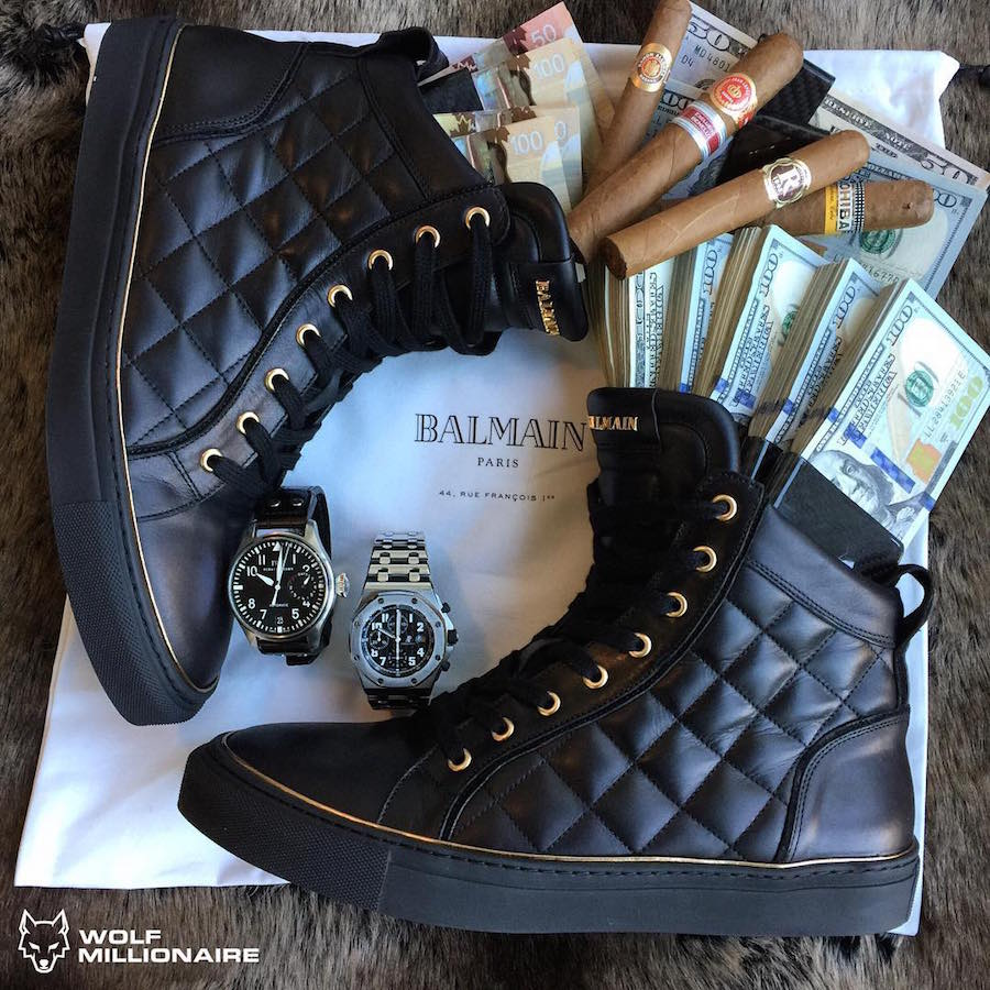 Balmain-Shoes-Audemars-Piguet-Watch-Iwc-Cigars