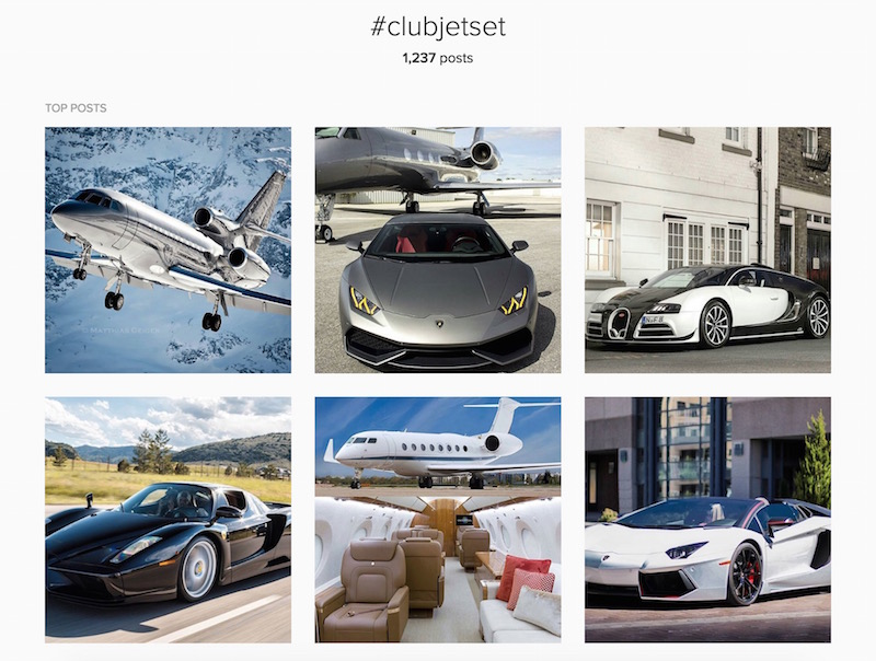 Instagram ClubJetSet Success