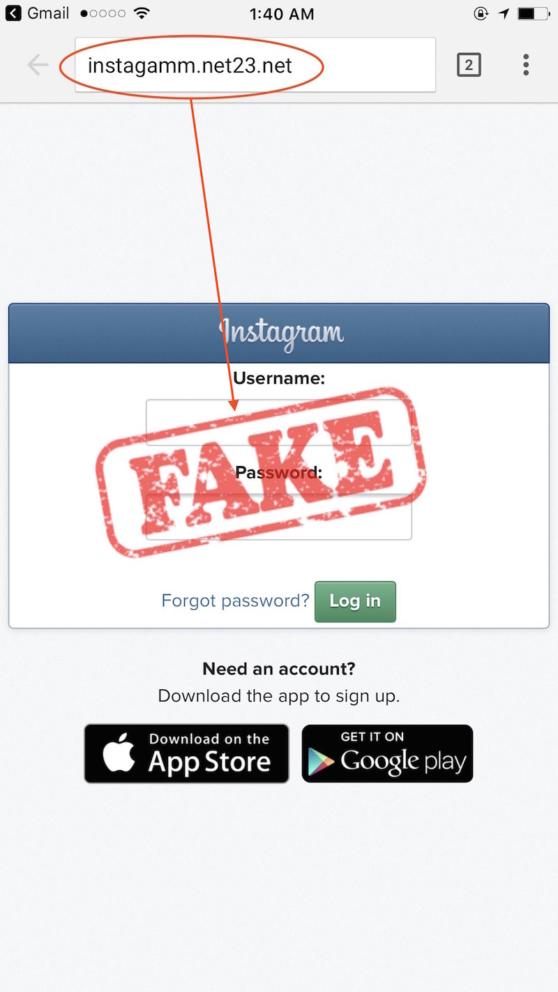 Badge Scam Instagram Emails To Beware Of