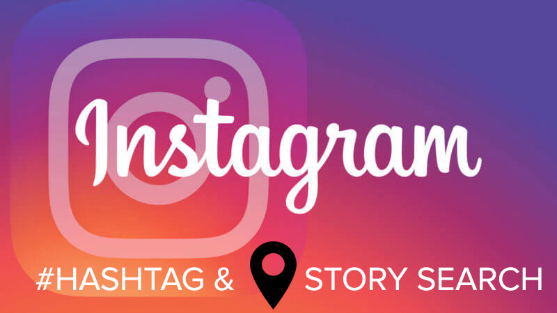 Instagram Hashtag & Location Story Search