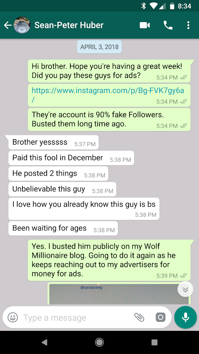 CarSociety Instagram Scam Exposed (AGAIN) - Wolf Millionaire
