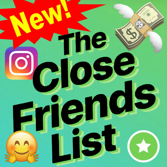 Close Friends List Instagram