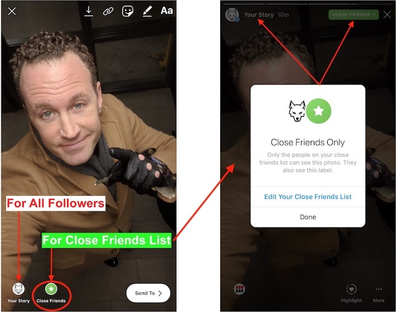 How To Use Instagram Close Friends List
